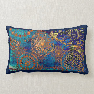Bohemian Pattern - Lumbar Pillow Cushions