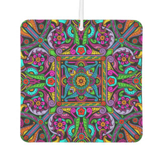 Bohemian Stained Glass Style Design