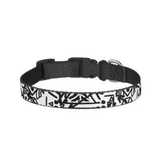 Boho Black and White | Dog Collar