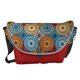 Boho Rosette Messenger Bag