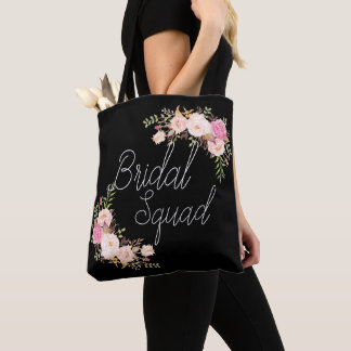 Boho Tote Bag, Bridal Squad Bag, Team Bride Bag