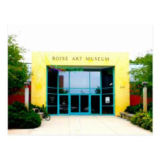 Boise Art Museum Postcard