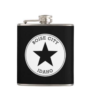 Boise City Idaho Hip Flask