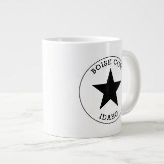 Boise City Idaho Large Coffee Mug