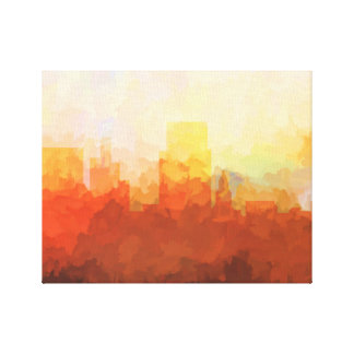 BOISE, IDAHO SKYLINE In the Clouds Canvas