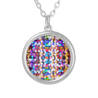bokeh #1 silver plated necklace