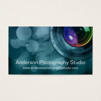Bokeh & Zoom Lens Photographer Business Card D6