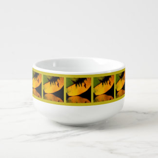 Bold, Bright and Beautiful Soup Bowl With Handle