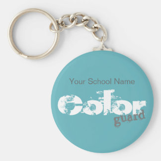 Bold Color Guard Typography | Key Chain