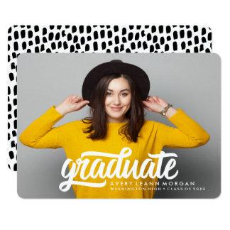 Bold Grad | Graduation Announcement
