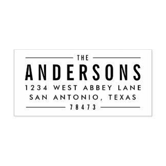 Bold Impression Address Stamps
