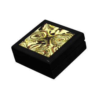 Bold Move - Yellow and Black Abstract Gift Box