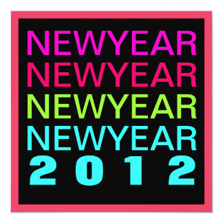 Bold New Year's Eve Party Modern Invitation