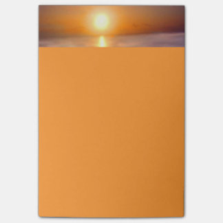 Bold Ocean Sunset Post-it® Notes