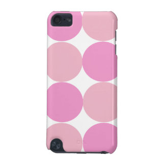 Bold Pink Polka Dot 4  iPod Touch (5th Generation) Cases