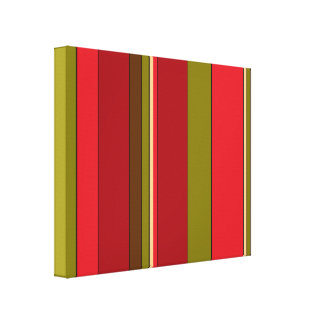 Bold Stripes Canvas Print