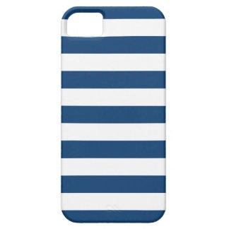 Bold Stripes Monaco Blue iPhone 5 Case