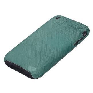 Bold Teal Green Tough iPhone 3 Covers