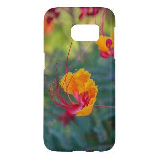 Bold Tropical Flower Samsung Galaxy Case