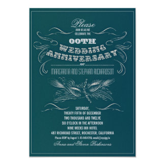 bold typography wedding anniversary card