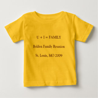 Bolden Family Reunion Infant Baby T-Shirt