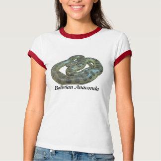 Bolivian Anaconda Ladies Ringer T-Shirt