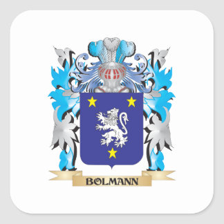 Bolmann Coat of Arms Square Sticker