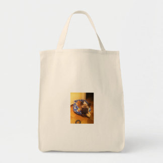 Bolsa con imagen perro bulldog