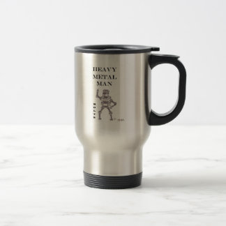 Bolts - Heavy Metal Man Travel Mug