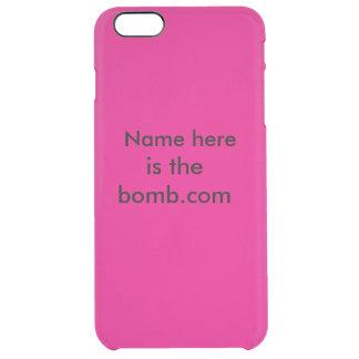 Bomb.com Clear iPhone 6 Plus Case