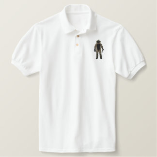 Bomb Suit Embroidered Polo Shirts