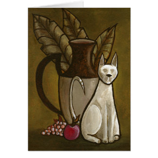 Bombay Cat 3 Card