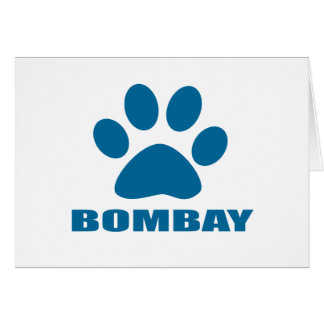 BOMBAY CAT DESIGNS CARD