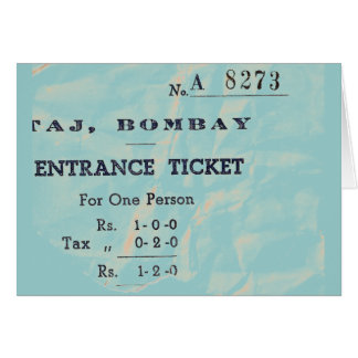 BOMBAY DOOR CARD