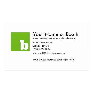 Bonanza Basic Business Card