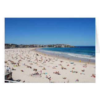 Bondi Beach, Sydney, Australia Card