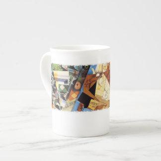 Bone China Mug - Cubist's Kitchen, by Juan Gris