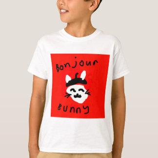 Bonjour Bunny.jpg T-Shirt