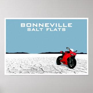 Bonneville Salt Flats Print