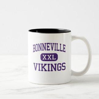 Bonneville - Vikings - Junior - Salt Lake City Two-Tone Coffee Mug