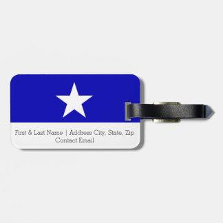 Bonnie Blue Flag Luggage Tag