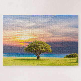 Bonsai By The Water Jigsaw Puzzle