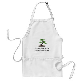 Bonsai: The Art of Killing Small Trees Apron