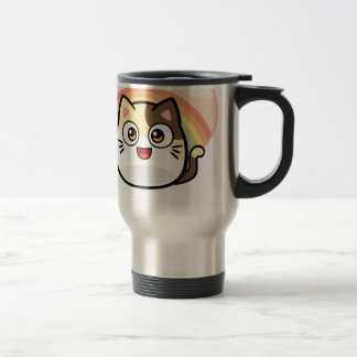 Boo as Cat Design Products Travel Mug