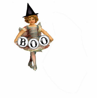 Boo Gril figurine Cut Outs