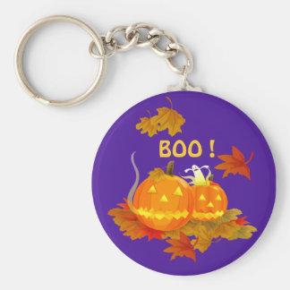 BOO ! Halloween Key Ring
