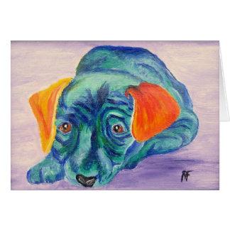 Boo - the cute Dog - Greeting Card