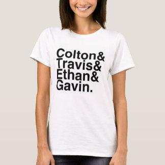 Book Boyfriends — Colton Travis Ethan Gavin T-Shirt
