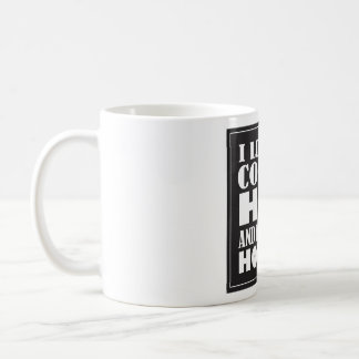 Book lovers coffee mug. basic white mug
