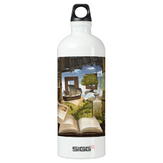 Books are knowledge! SIGG traveller 1.0L water bottle